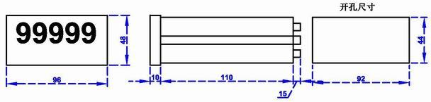 电子尺数显表