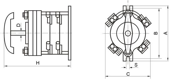 闪光对焊机接线图