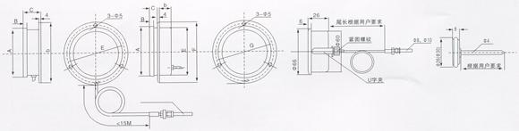 電接點壓力式溫度計 WTZ-288 - WTQ-288   WTZ-280    WTQ-280