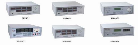 变压器(充电器)专用测量仪    GDW400          GDW401