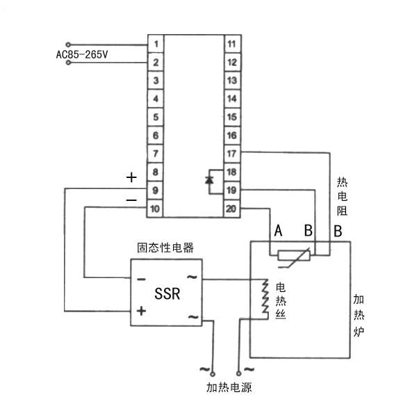 tf6-sb10高精度温控器广泛应用于加热系统,在鞋机,印刷,包装,纺织等