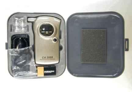 呼吸式酒精检测仪CA2000/酒精浓度计
