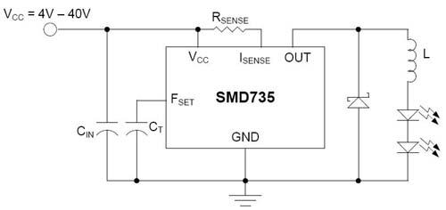 大功率LED电路