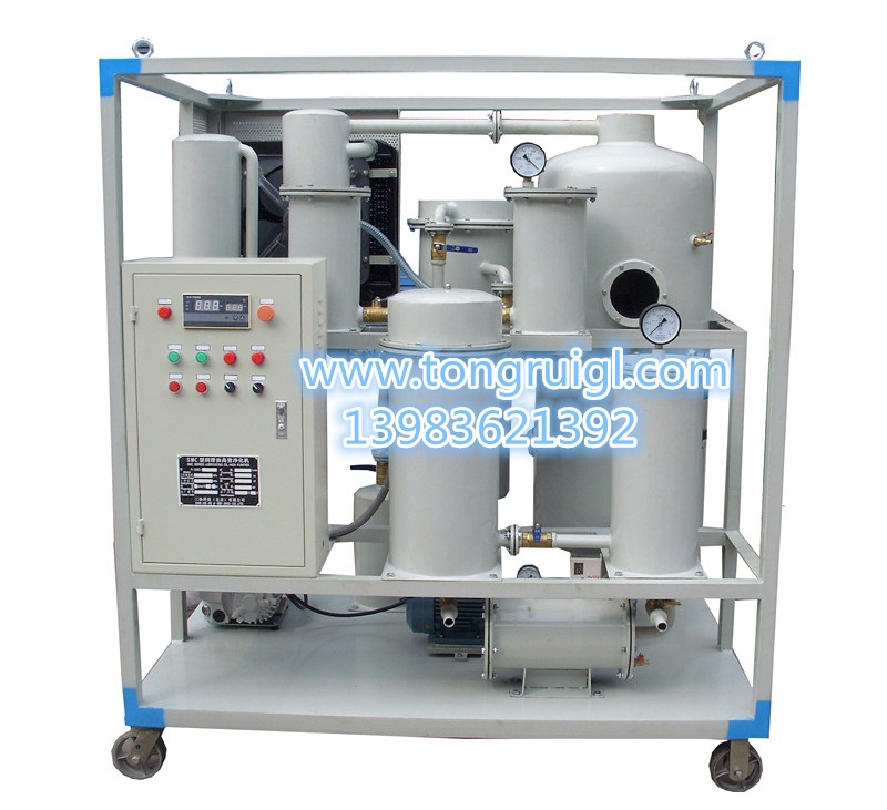 ZJD液压油过滤脱水净化机