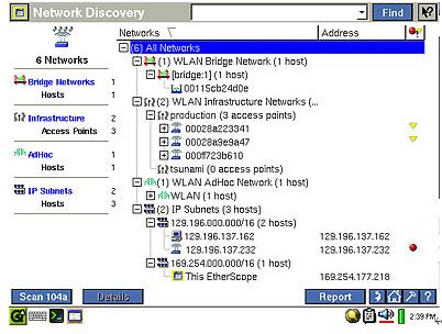 手持式无线网络测试仪ES-WLAN