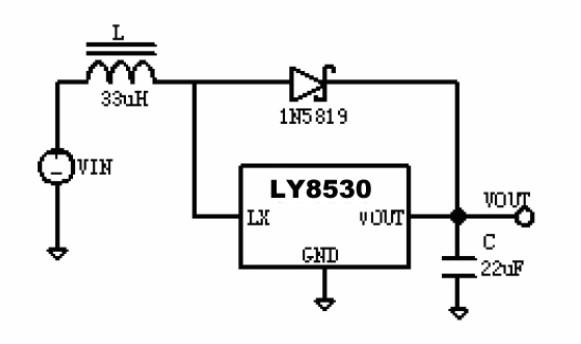 升压电路LY8530全兼容BL8530