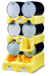 三层油桶架