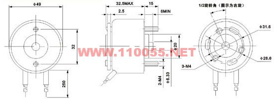 HCNE3-X49A   HCNE3-T49AZ  HCNE3-X59   旋转电磁铁