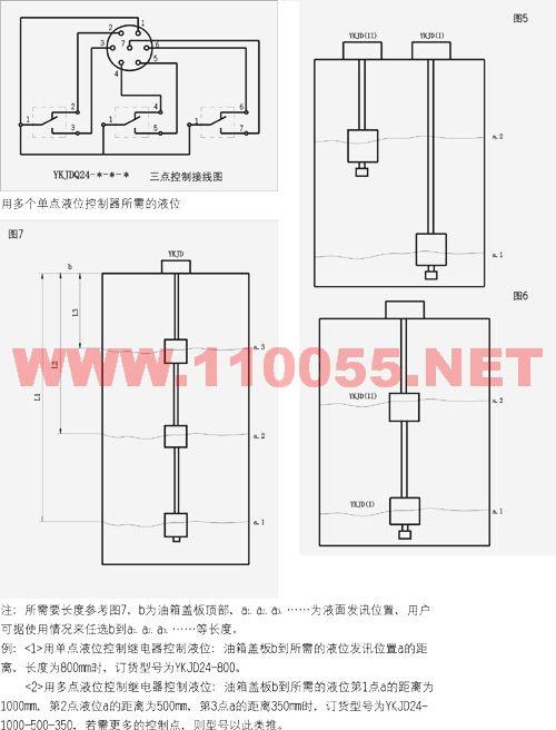 YKJD24BH-500 YKJD24BH-1000 YKJD220BH-500 液位控制继电器