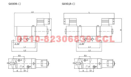 q23db-l15 q23d2b-l15 q24db-l6 q24d2b-l6 滑板式电磁阀图片
