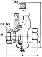 二通内螺旋塞阀X13W