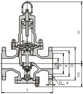 弹簧薄膜式减压阀Y42X
