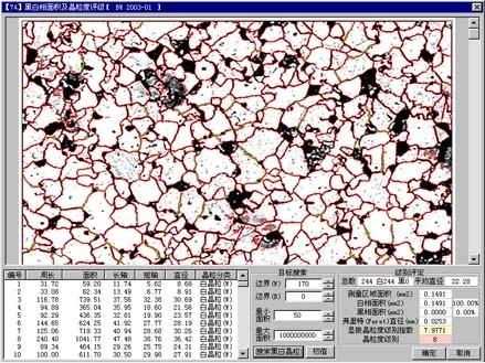 晶粒度评级