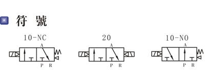 4v210-08 二位五通单电磁阀图片