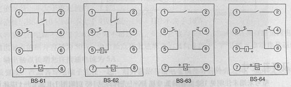 bs-70系列时间继电器 价格 接线图 厂家 控制