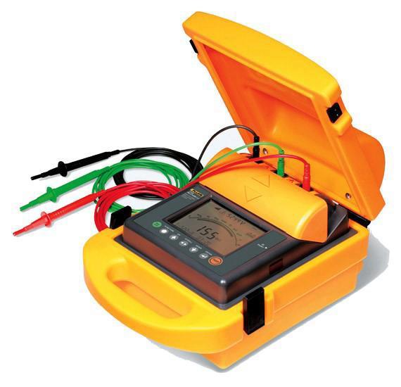 高压兆欧表/绝缘电阻测试仪 型号:ZH-Fluke 1550B