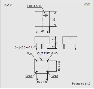 5920A-APG70 Dimensions