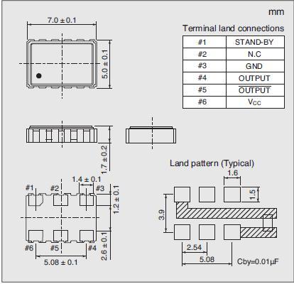 7311S-DG-505X Dimensions