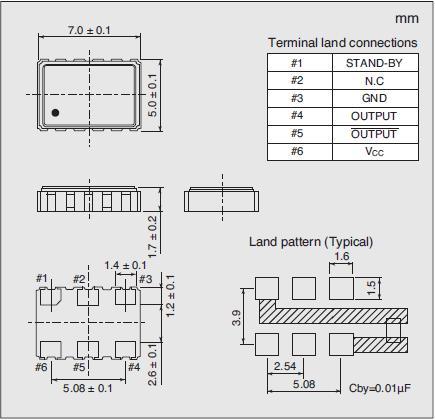 7311S-GF-505P Dimensions