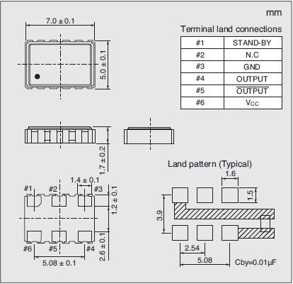 7311S-GG-505P Dimensions