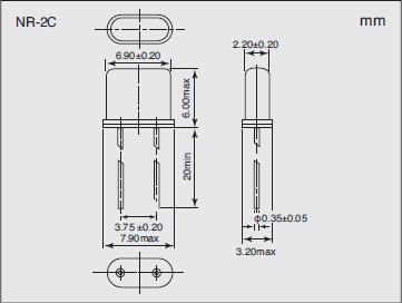NR-2C Dimensions