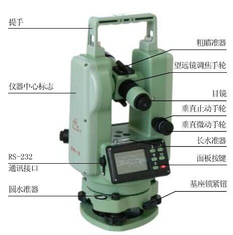 dt305苏州一光电子经纬仪