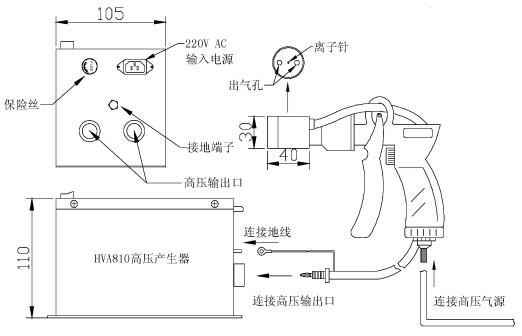 韩国tailim高压电源产生器hva810-2p