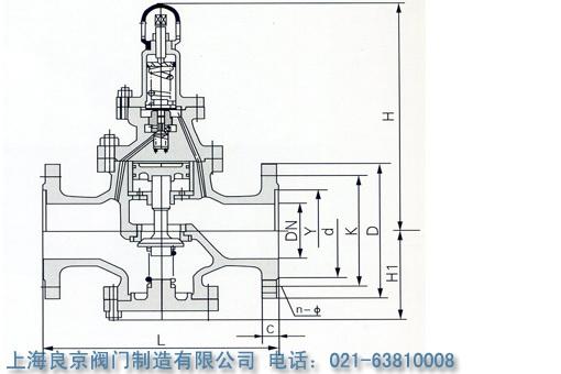 y43h,y43y先导式活塞蒸汽减压阀