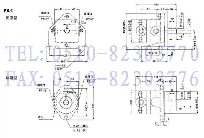 fa1-12,低压定量叶片泵图片