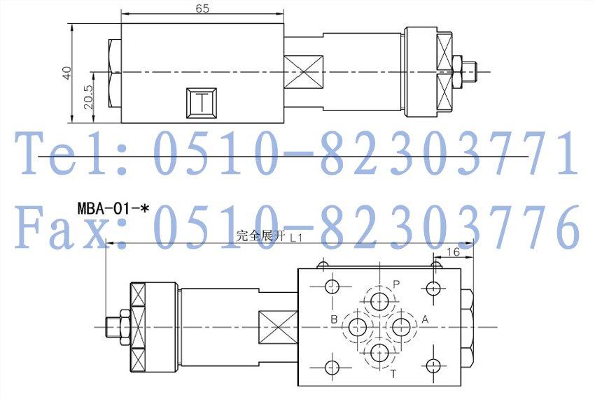 叠加式溢流阀 mbp-01-c-10,mbp-01-h-10,mbp-03-b-10,mbp-03-h-10,mb图片
