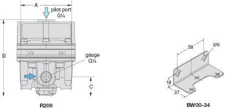 duray气控比例减压阀作为流量放大器的一种,精确度最高,并且具有反图片