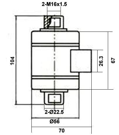 VKLB板环拉力传感器