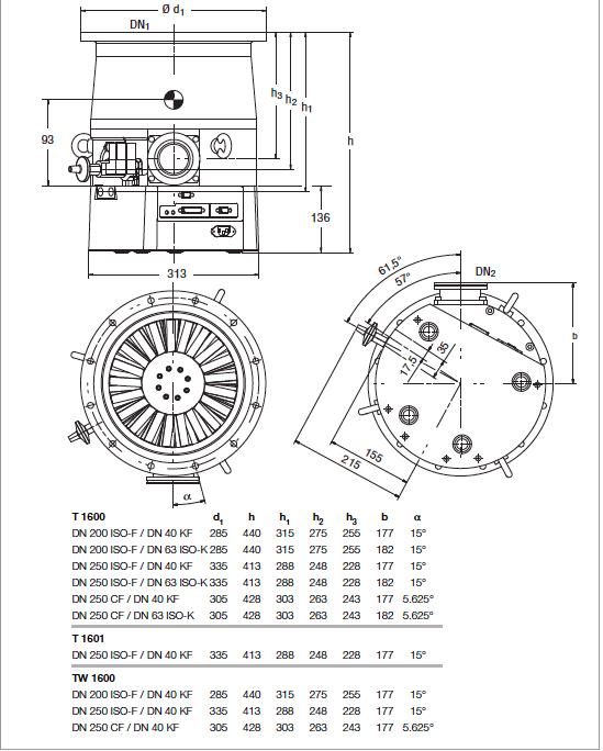 Turbovac t 1600