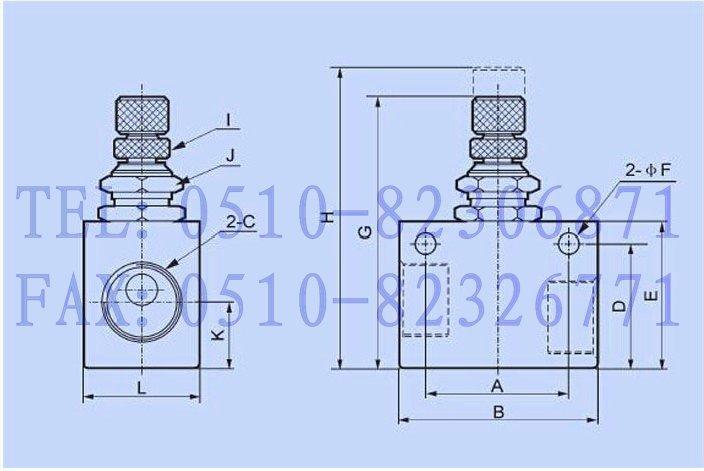 产品目录 液压元件 液压阀 >>>  控制阀 梭动阀 >>>  流量控制阀  asc图片