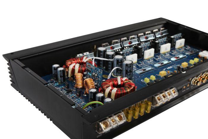 汽车功放X5内部电路板设计