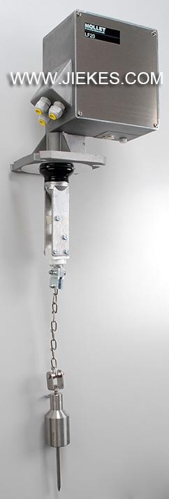 德国MOLLET防爆重锤式料位计-介可视,工业固体测量仪表苐一品牌!