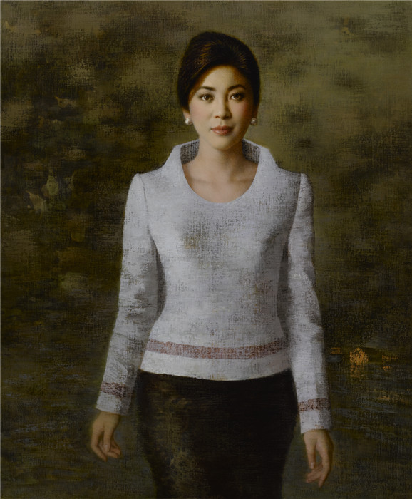泰国总理英拉 120×100cm&nbsp