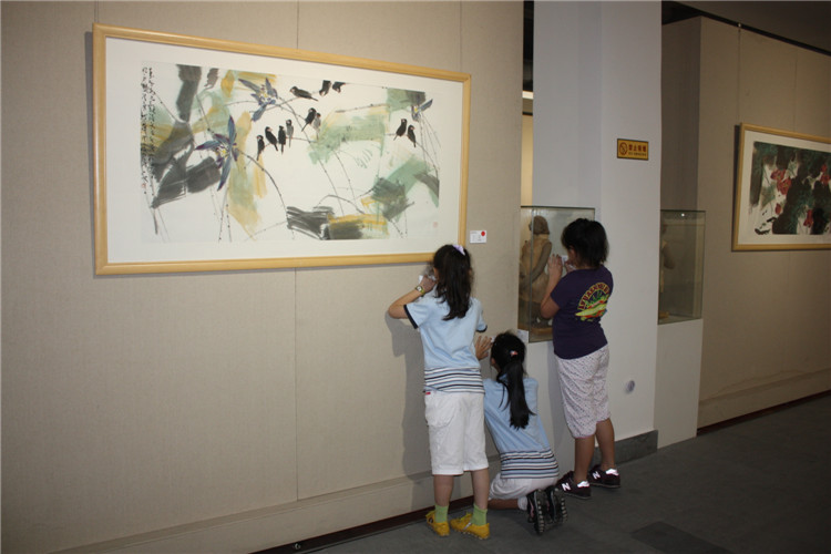 组织中小学参观|珠海诚丰美术馆