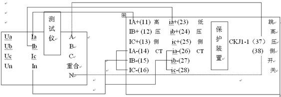 §1.3 LY面板说明  一.接线端子 LY电压输出: UA、UB、UB分别对应A、B、C三相电压,UX、UY、UZ分别对应X、Y、Z三相电压,UN电压接地端子。 LY接地端子:用于可靠接大地。 LY开关量输入:A、B、C、R、a、b、c、r及N公共端。 开入量可以接空接点,也可以接10~250V的带电位接点。一般地,A、B、C分别连接保护的跳A、跳B、跳C接点,R连接保护的重合闸接点。 使用带电接点时,直流电源的+端,即控制源的+KM,必须接公共端(N)。直流电源允许电压为0~250伏。如