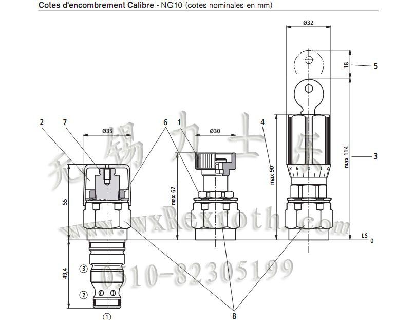 先导式溢流阀 |无锡油力液压气动设备有限公司图片