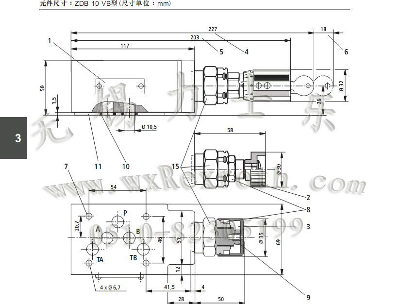 先导式溢流阀  zdb/z2db型压力控制阀是叠加板结构的先导式溢流阀,用