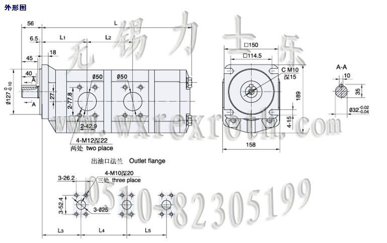 内部结构使用了轴向间隙浮动补偿,径向平衡,du自润滑等多项先进技术.图片