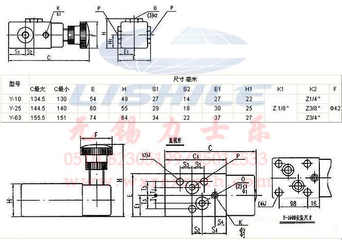 y-25b-溢流阀(厂家直销)图片