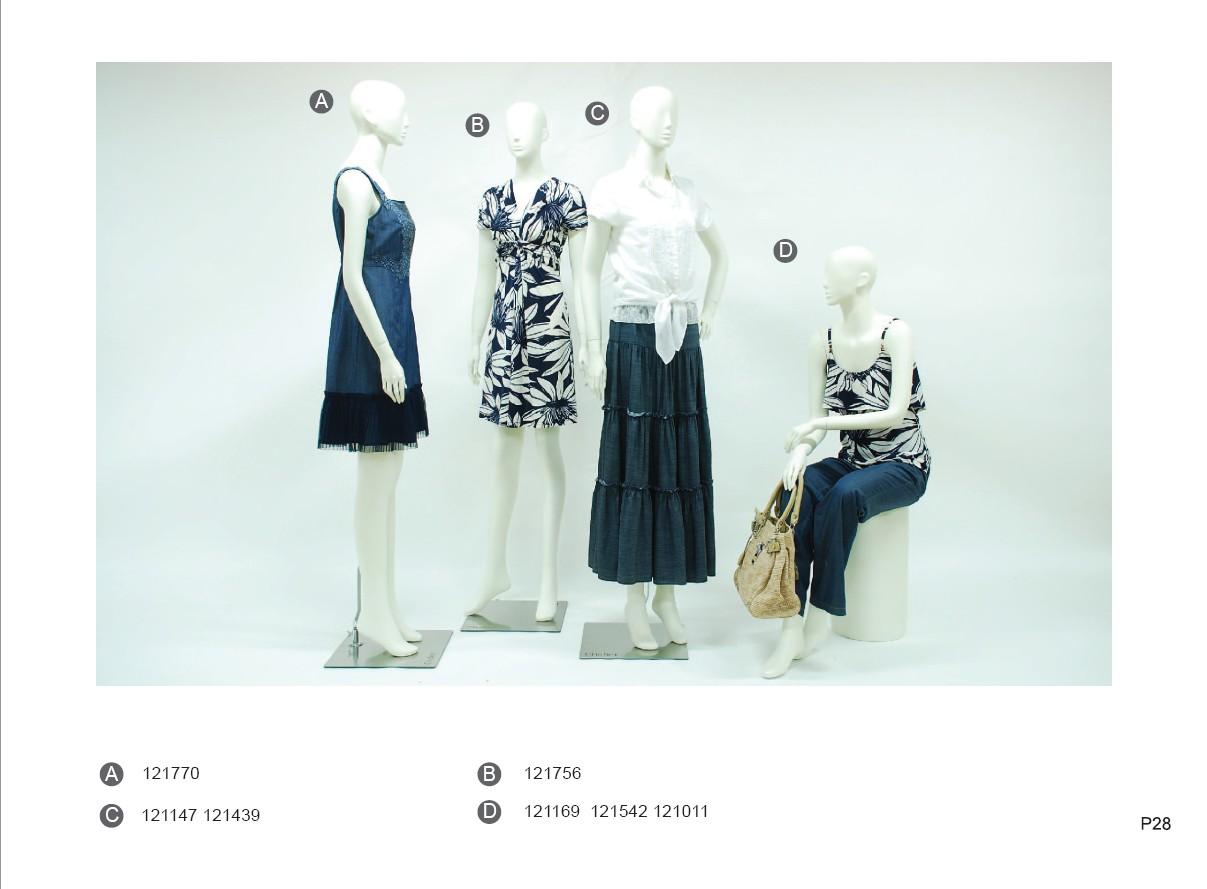 巧帛服饰夏季产品画册设计 2012