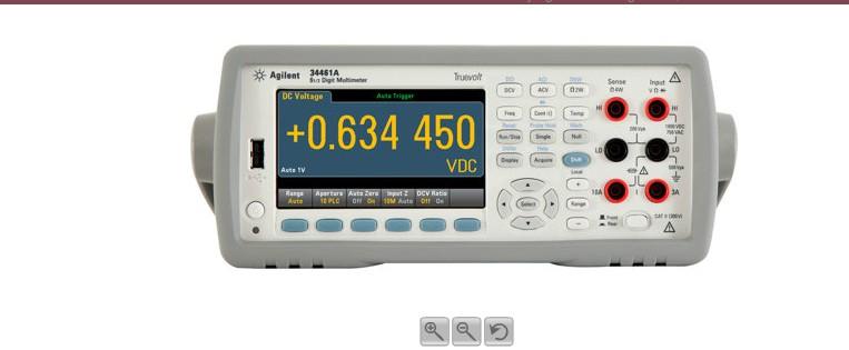 数字万用表测量电机电流图解