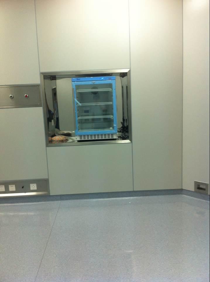 北京福意联医疗设备有限公司 -手术室保温柜安装效果图