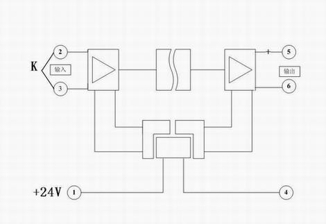导轨式热电偶温度变送器