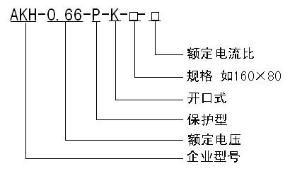瑞保护型开口式电流互感器AKH 0.66 P K 120 60图片