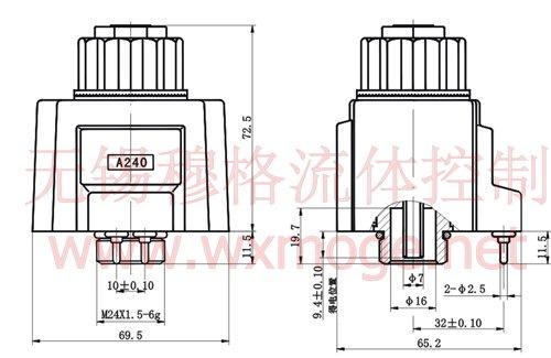 mfj9-26yc,mfj9-50yc,交流(接线盒式)湿式阀用电磁铁图片
