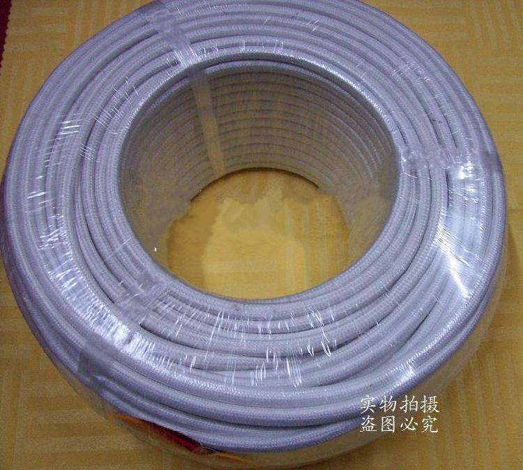 GN500 云母绕包高温线 耐温500度 玻璃纤维高温线0.5平方  此规格为:0.5mm国标 型号及名称:GN-500裸铜丝耐火电线电缆耐500度 (500云母绕包编织高温线)此类为GN500度高温线,耐温比普通高温线更高 适用范围:本产品是冶金、石油、化工、炼油、天然气、机械设备等特殊环境中,需要防火性能强的各种电气装置中需用的电线电缆等。 用途:适用于交流600V及以下高温条件下电气设备及仪表线路的连接。如航天航空,国 防科技冶金化工,电力炼油,船舶道路等高科技领域及车辆制造,食品机械,照明器